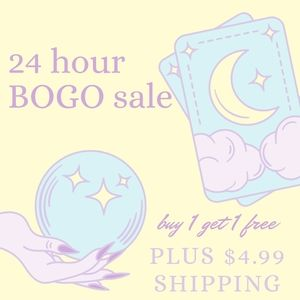 Buy one get one free 24 hours only!!